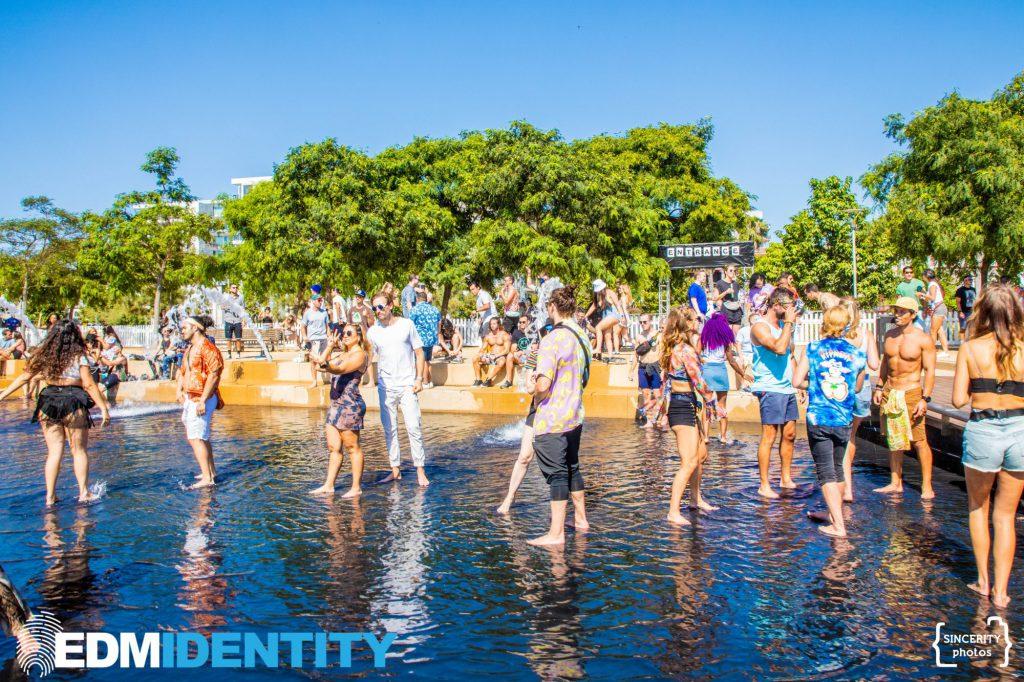 Day MVS XL 2021 Fountain Dancing