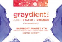 Graydient Arts Day Party Space Yacht Understated