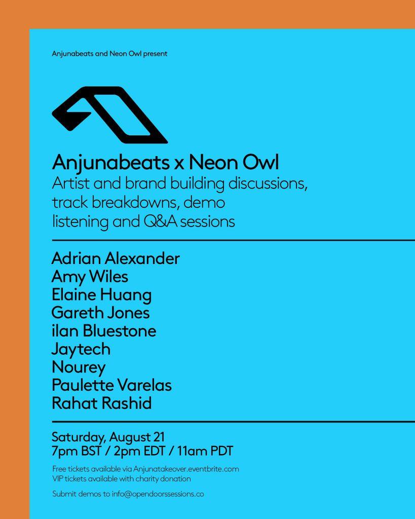 Neon Owl Anjunabeats Open Door Sessions
