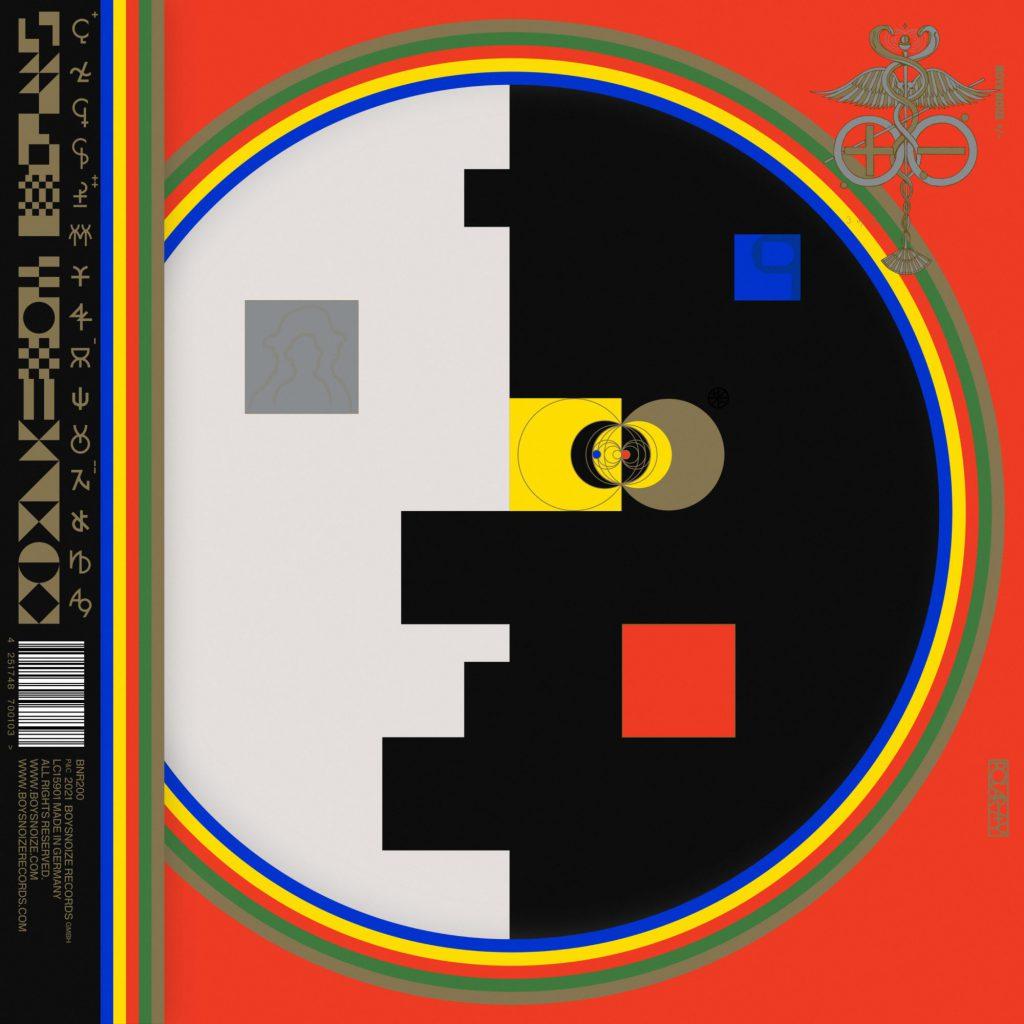 Boys Noize Polarity - album art