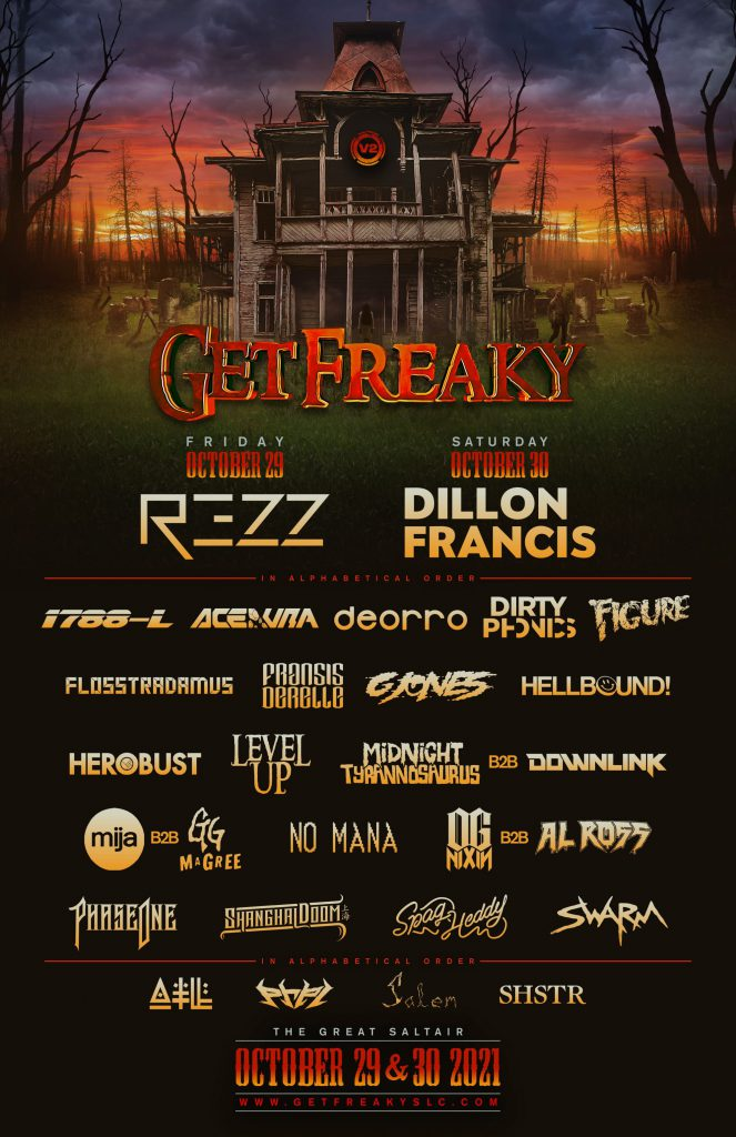 V2 Presents Get Freaky 2021 Lineup