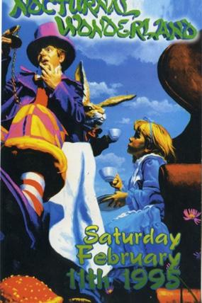 Nocturnal Wonderland 1995 Flyer