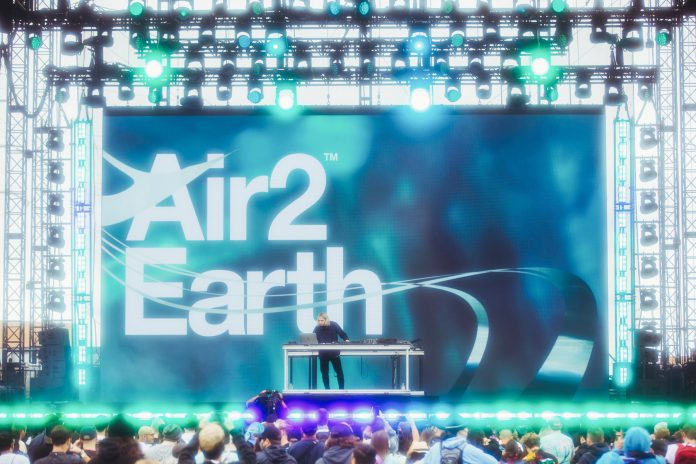 Porter Robinson Air To Earth at Second Sky Music Festival 2021
