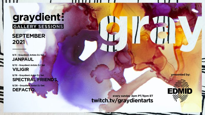 Gradyient Collective Gallery Sessions September Schedule