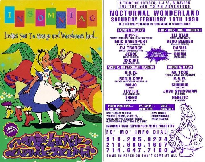 Nocturnal 1996 Flyer