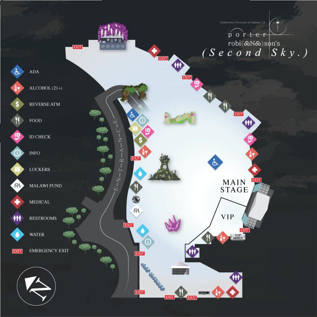 Second Sky 2021 Map