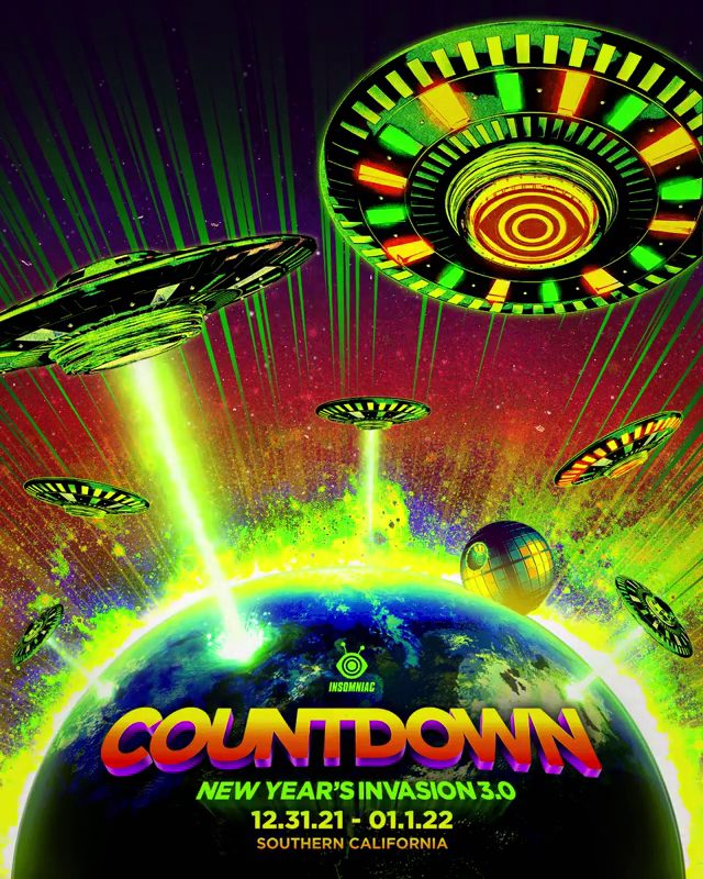 Countdown NYE 2021 Dates