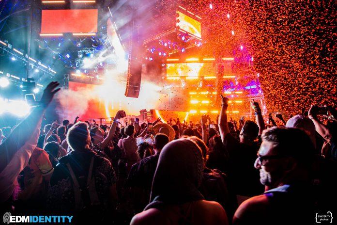 Goldrush Music Festival 2021 Confetti