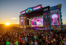Beyond Wonderland at The Gorge 2021 - Sunset at Main Stage